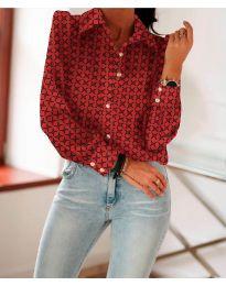 Košile - kód 654 - červená