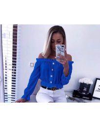 Košile - kód 7126 - modrá