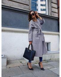 Kabát - kód 9099 - šedá