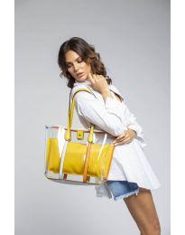 kabelka - kód LS542 - žlutá