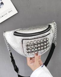 kabelka - kód B298 - stříbro