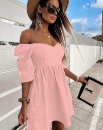 Šaty - kód 7413 - růžova