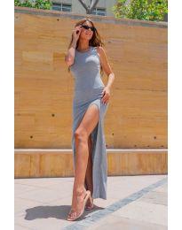 Šaty - kód 11966 - šedá