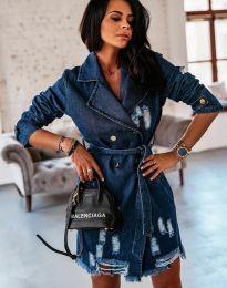 Šaty - kód 2888 - 2 - modrá
