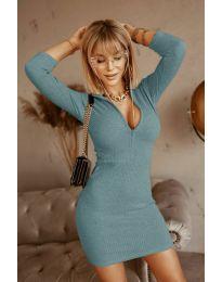 Šaty - kód 3107 - tyrkysový