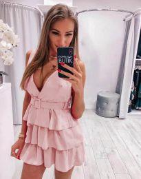 Šaty - kód 6939 - světle růžová