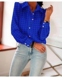Košile - kód 654 - tmavě modrá