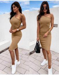 Šaty - kód 0208 - hněda