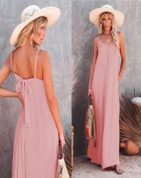 Šaty - kód 4673 - světle růžová