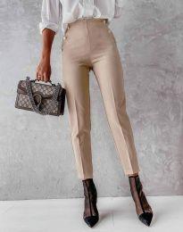 Kalhoty - kód 4895 - bežová