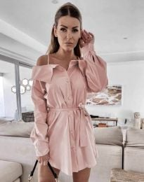 Šaty - kód 1457 - růžová