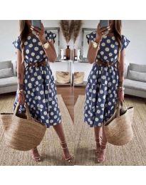 Šaty - kód 1415 - modrý