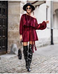 Šaty - kód 324 - bordeaux