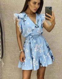 Šaty - kód 8125 - světle modrá