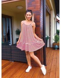Šaty - kód 035 -1 - vícebarevné
