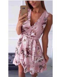 Šaty - kód 739 - růžová