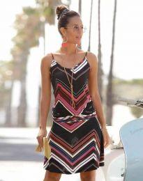 Šaty - kód 1256 - 1 - barevné