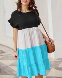 Šaty - kód 1039 - 4 - vícebarevné