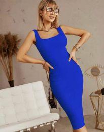 Šaty - kód 5965 - modrá