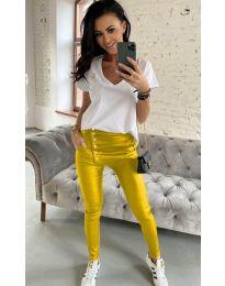 Kalhoty - kód 954 - žlutá
