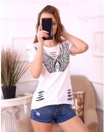 Tričko - kód 3567 - bíla