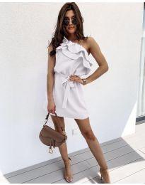 Šaty - kód 002 - bílá