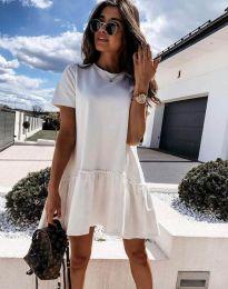 Šaty - kód 4465 - bíla