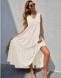 Šaty - kód 8149 - bíla