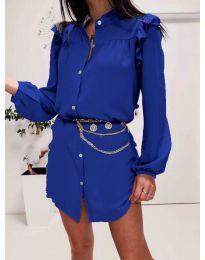 Šaty - kód 3433 tmavě modrá