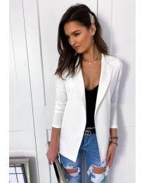 Дамско елегантно сако в  бяло - код 2900