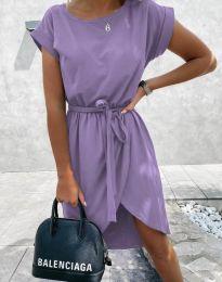 Šaty - kód 2074 - světle fialová