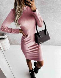 Šaty - kód 9368 - růžová