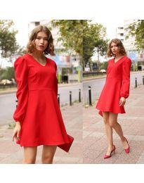 Šaty - kód 1478 - 1 - červená