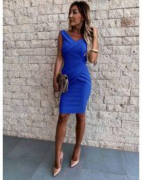 Šaty - kód 1104 - tmavě modrá