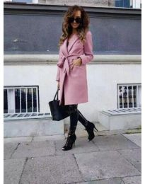 Kabát - kód 7940 - růžova