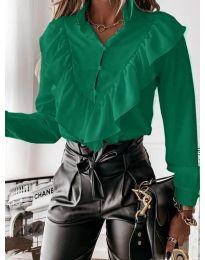 Košile - kód 9032 - zelená