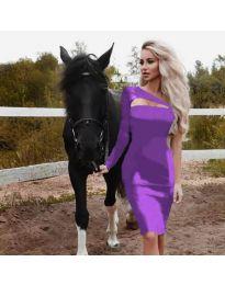 Šaty - kód 955 - fialová