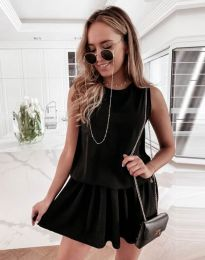 Šaty - kód 6612 - 1 - černá