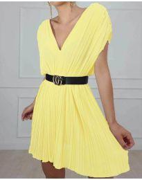 Šaty - kód 5670 - žlutá