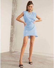 Šaty - kód 625 - modrý
