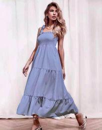 Šaty - kód 1729 - modrý