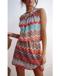 Šaty - kód 3317 - oranžová