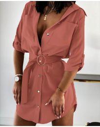 Šaty - kód 976 - pudrová