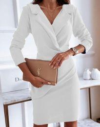 Šaty - kód 4159 - bíla