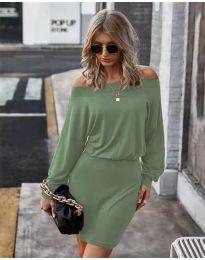 Šaty - kód 4447 - zelená