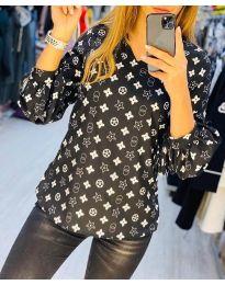 Košile - kód 5223 - 2 - černá