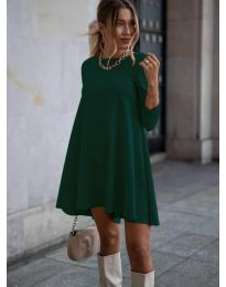 Šaty - kód 371 - olivová  zelená