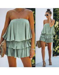 Šaty - kód 0489 - zelená