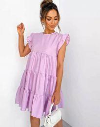 Šaty - kód 2666 - fialová