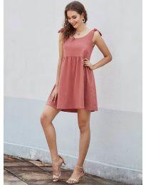 Šaty - kód 2255 - oranžová